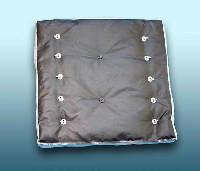 tkanina materacy płaskich